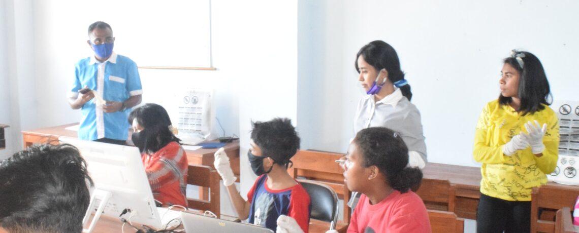 Sebanyak 553 Peserta didik PAUD-Dikdasmen PKBM Harapan Bangsa Kota Kupang mengikuti PAS/ Asesmen Akhir Semester Ganjil TP..2020/2021