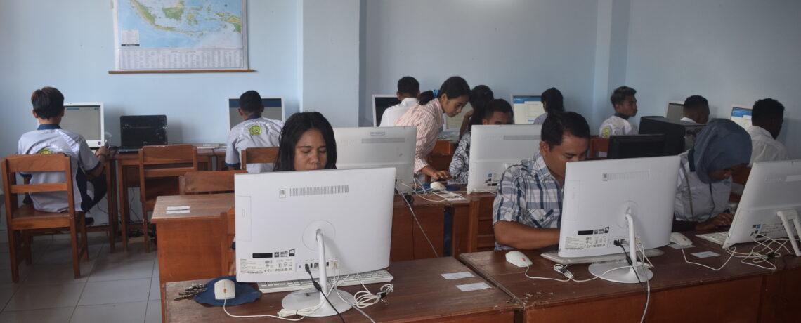 PKBM Harapan Bangsa Selenggarakan Gladi Bersih UN Paket C Setara SMA Berbasis Komputer